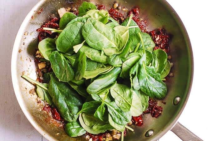 Spinach Tuscan